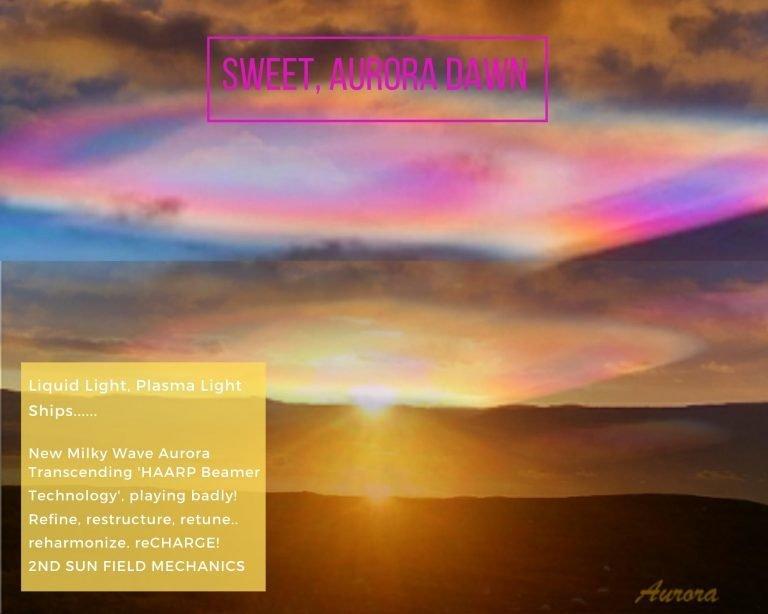 Aurora Light Beam, Light Activator Template