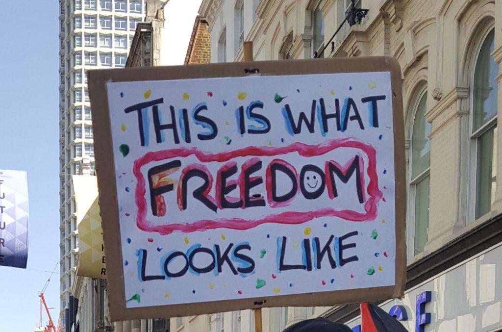 freedom looks