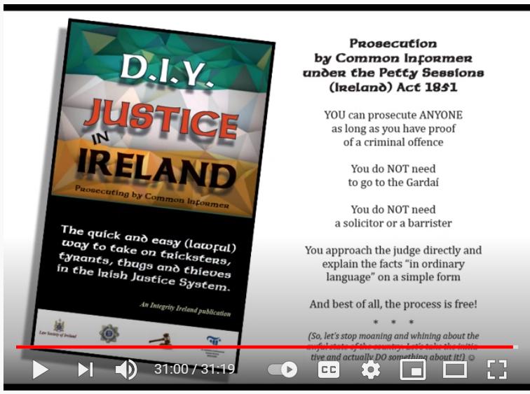 DIY Justice Ireland